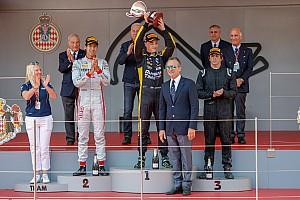 FIA Fórmula 2 Crónica de Carrera Brillante podio de Merhi en Mónaco