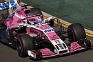Forma-1 Force India a rengeteg újdonságot tesztelte pénteken