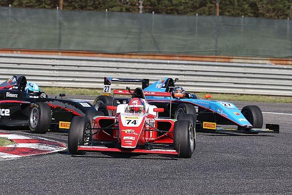 Formula 4 Gara Fittipaldi batte in volata Lorandi e fa sua Gara 3 ad Adria