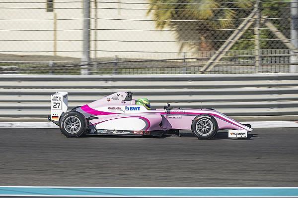فورمولا 4 الإماراتية فورمولا 4 الإماراتية: شوماخر يُحرز فوزه الأوّل وكوهلر يُهيمن بانتصارَين في دبي