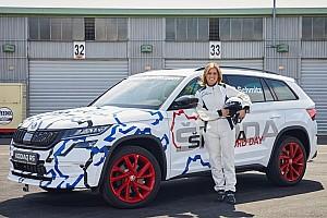 Automotive Breaking news Skoda Kodiaq RS sets 7-seat SUV Nurburgring record