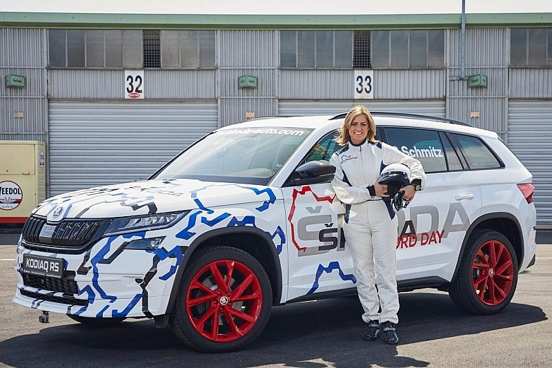 7-місний позашляховик Skoda Kodiaq RS встановив рекорд на Нюрбургринзі