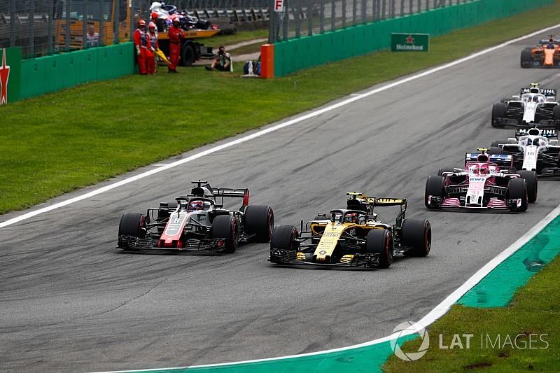 Renault, Grosjean'ın Haas aracını protesto etti!