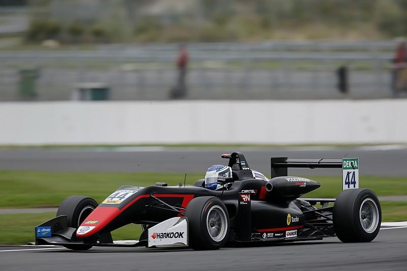 Випс победил в третьей гонке этапа Формулы 3 в Сильверстоуне