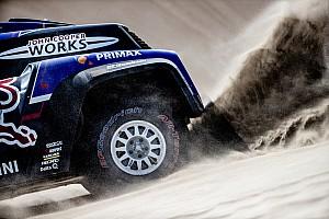 Dakar: il sistema di gonfiaggio e sgonfiaggio gomme è il tallone d'Achille dei Buggy MINI
