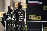 F1: FIA restringe uso de camisetas e outros acessórios no pódio após protesto de Hamilton