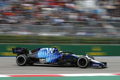 "Williams F1 car ""the best it's ever felt"" in Russia - Latifi"