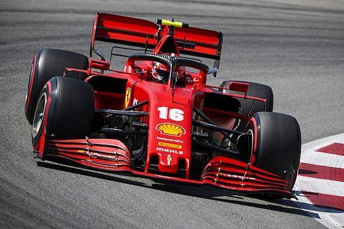 Leclerc most nem volt túl boldog az időmérő után