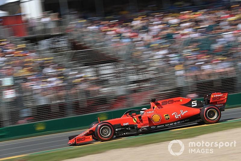 Surprised Vettel says Ferrari