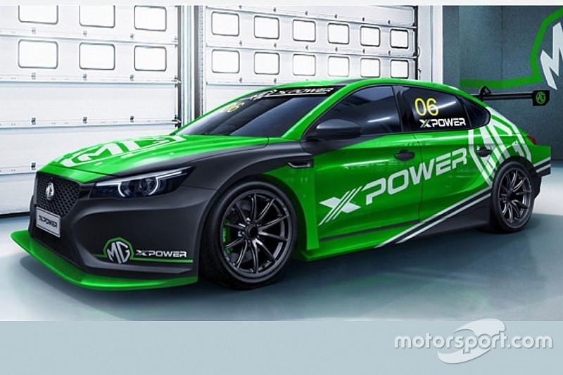 La MG6 TCR è nero-verde, correrà nel FIA WTCR?