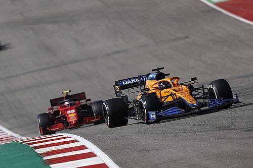 "Sainz: US GP contact with Ricciardo ""on the limit of legality"""