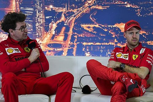 Binotto rehearsed Vettel split phone call three times