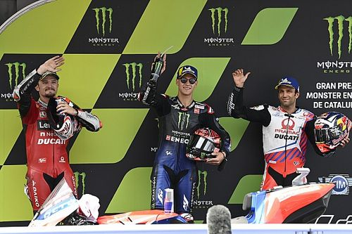 La grille de départ du GP de Catalogne MotoGP