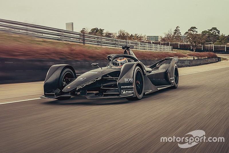 Photos - Premiers tours de roue pour Porsche en Formule E