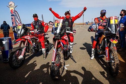Beberapa Rekor Kategori Sepeda Motor Reli Dakar