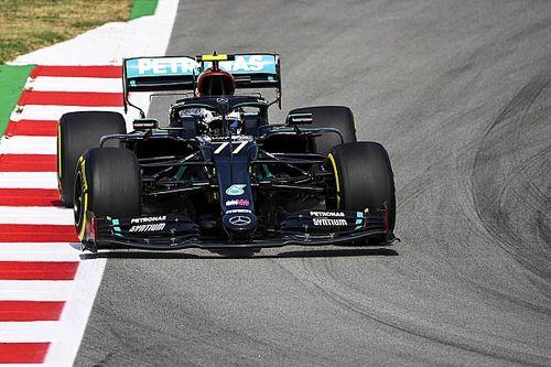 Nagy Mercedes-fölény és Ferrari 4-5 a Spanyol Nagydíj első szabadedzésén