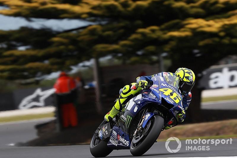 Valentino Rossi liebäugelt mit Australien-Podest: Startplatz sieben
