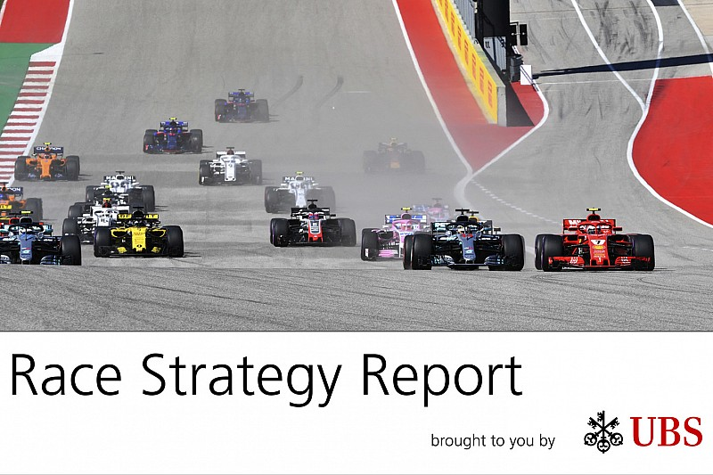 La estrategia del GP de Estados Unidos: los errores de Mercedes facilitan la vida a Ferrari