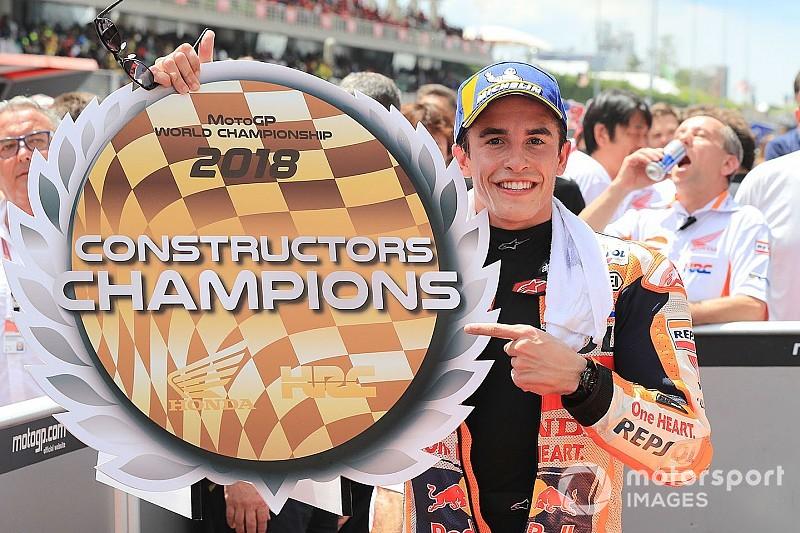 Championnat - Honda Champion constructeurs!