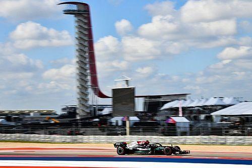 F1アメリカFP1:メルセデスが1-2! 好調続くボッタスがトップタイム、アルファタウリ角田は18番手
