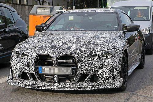 BMW M4 CSL, il potente sound in un video spia dal Nurburgring