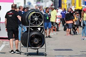 Michelin planche sur un nouveau pneu avant pour 2019
