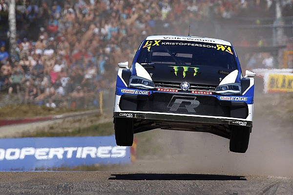 World Rallycross Race report Sweden World RX: Kristoffersson tops first day on home turf