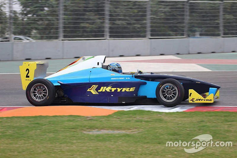 Buddh JK Tyre: Reddy secures title with Race 3 win