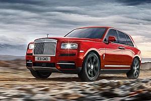 Auto Actualités Rolls-Royce lève le voile sur son premier SUV