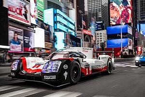 WEC Últimas notícias VÍDEO: Porsche 919 Hybrid anda pelas ruas de Nova York
