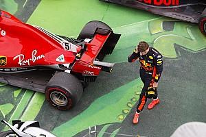 """Formule 1 Nieuws Verstappen in de wolken met podiumplek: """"Een hele goede wedstrijd"""""""