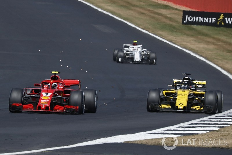 Renault está impresionado por el avance de Ferrari