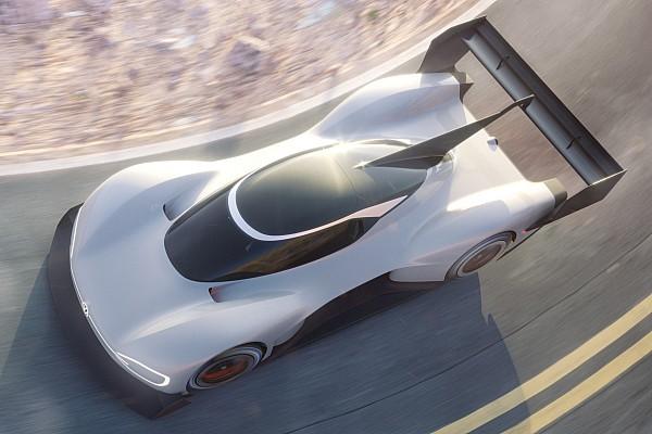 Automotive Nieuws VW toont eerste afbeelding van elektrische I.D. R Pikes Peak-racewagen