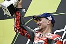MotoGP Lorenzo au sommet :