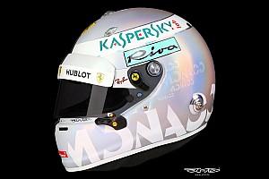 Fórmula 1 Top List GALERIA: Veja o capacete de Vettel para o GP de Mônaco
