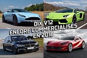 Auto Actualités Dix V12 encore commercialisés en 2018