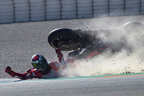 MotoGP Статистика Сезон MotoGP 2017 року: статистика аварій