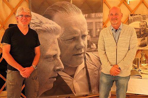 Un vibrant hommage à Herbert Müller et à Heini Walter