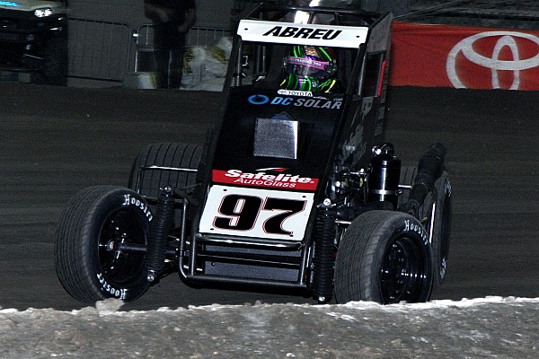 Midget Chili Bowl Nationals: Abreu has a roller coaster Wednesday night in Tulsa