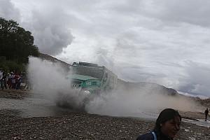 "Dakar Breaking news De Rooy: ""We've not been the quickest, just the smartest"""