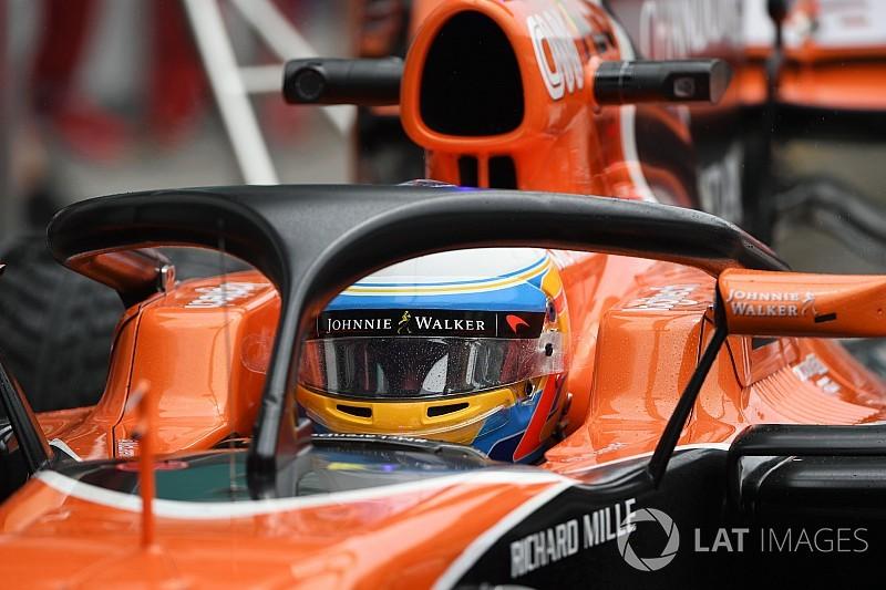 """Las pruebas del Halo de la F1 son """"bastante aterradoras"""""""