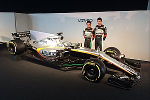 Force India reveals its 2017 F1 challenger