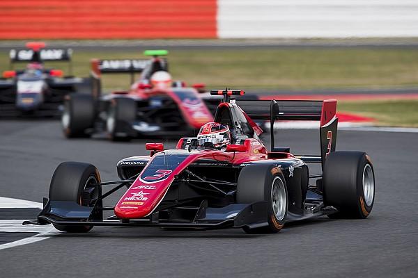 GP3 Отчет о гонке Расселл выиграл субботнюю гонку GP3 и вышел в лидеры сезона