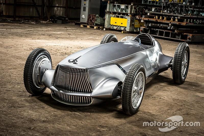 Infiniti Prototype 9, mobil balap listrik bergaya retro