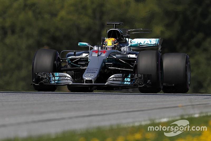 GP Austria: Hamilton cetak waktu tercepat di latihan pembuka