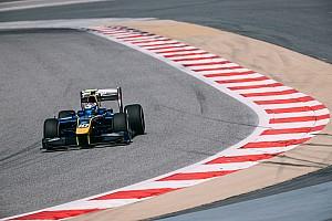 FIA F2 Testing report Latifi tops second day of Bahrain F2 test