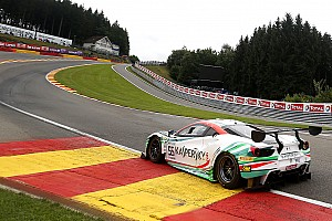 Blancpain Endurance Qualifying report Spa 24 Hours: Ferrari's Calado grabs pole by 0.057s