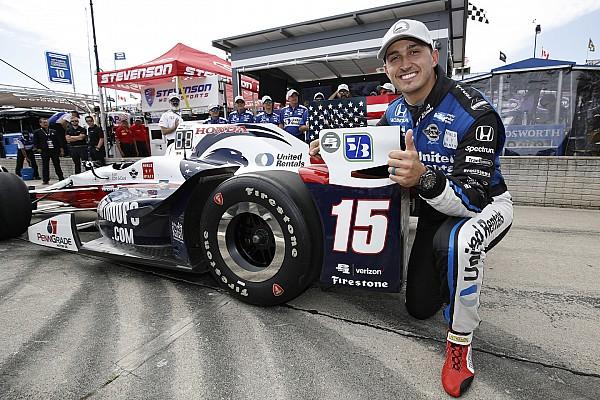 IndyCar у Детройті: Рейхол конвертує поул у перемогу