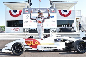 USF2000 Race report Martin holds off Lloyd for Road America victory