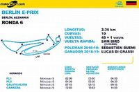 Horarios para ePrix de Berlín Ronda 6 y 7